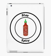 Stay Spicy iPad Case/Skin