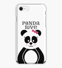 Panda Love iPhone Case/Skin