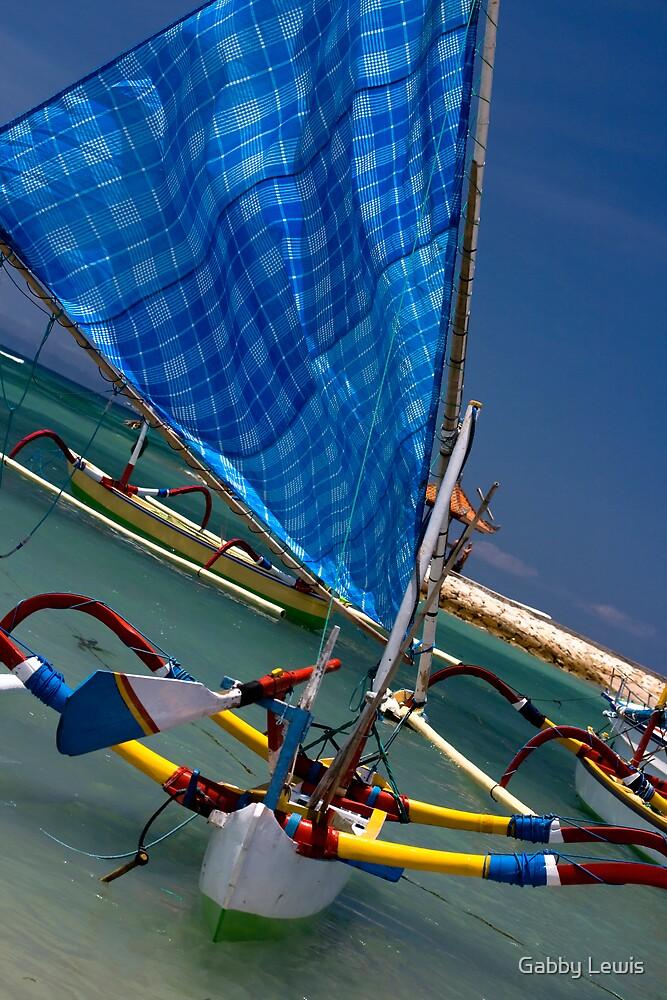Blue Sail by Gabby Lewis