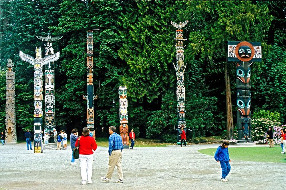 Totem Poles by satwant
