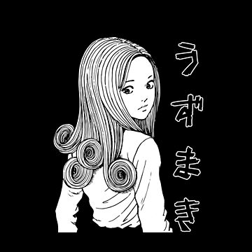 Uzumaki Kirie Goshima Black Shirt by dalecoopersama