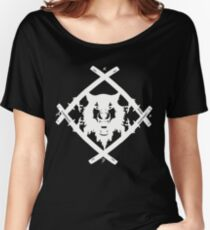 H. Squad White Women's Relaxed Fit T-Shirt