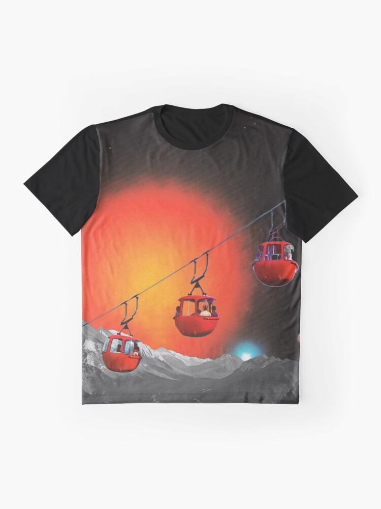 Alternative Ansicht von Evolutionäre Leiter Grafik T-Shirt