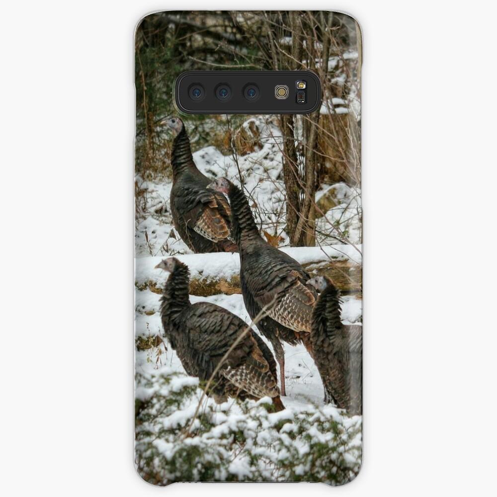 Christmas turkeys Case & Skin for Samsung Galaxy