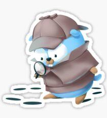 Detective Golang Gopher Sticker