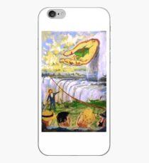 Blondin's Wheelbarrow iPhone Case