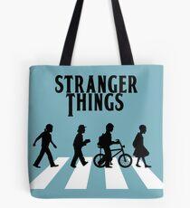 Stranger Things - The Beatles  Tote Bag