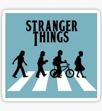 Stranger Things - The Beatles  Sticker