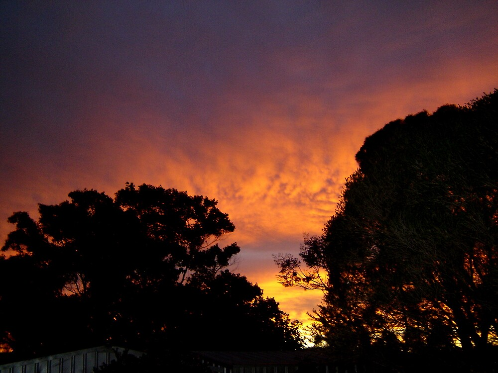 FIRE IN THE SKY by the6tees