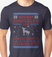 Chinese Crested Ugly Christmas Sweater Unisex T-Shirt
