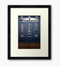 Air Jordan Legacy Poster Framed Print