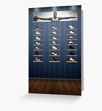 Air Jordan Legacy Poster Greeting Card