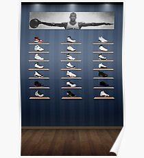 Air Jordan Legacy Poster Poster
