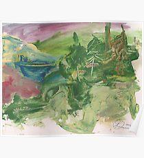 THE LANDSCAPE UNFINISHED(C2012) Poster