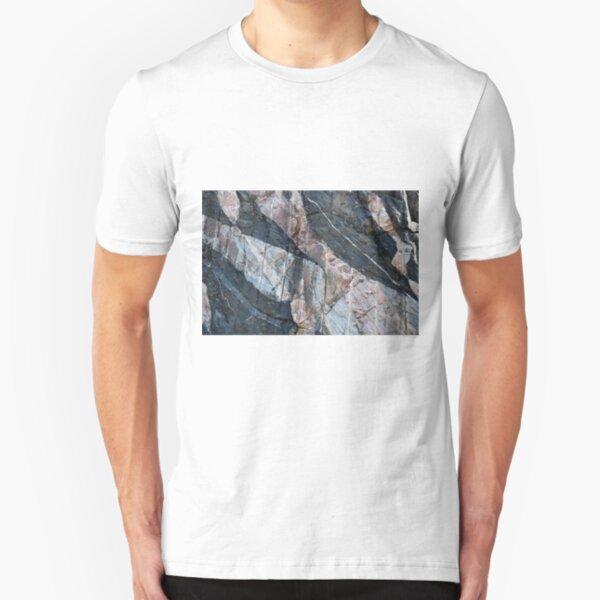 Geology makes art Slim Fit T-Shirt