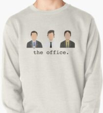 Jim, Dwight, Michael- The Office Pullover