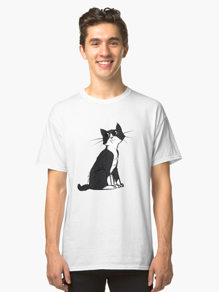 My Cat Tonks Classic T-Shirt Front