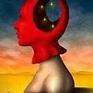 Perfil em Vermelho. by Marcel Caram