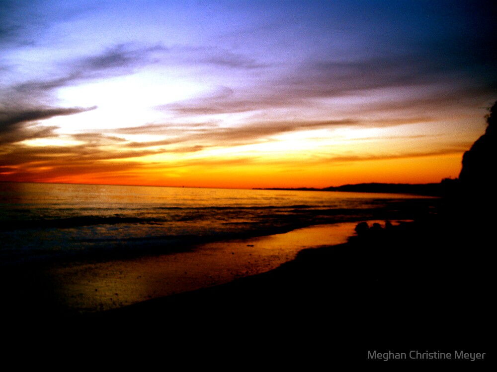 Painted Sunset by Meghan Christine Meyer