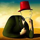 O Homem da Cartola Vermelha. by Marcel Caram