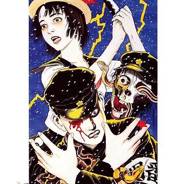 Suehiro Maruo Monster Visions by dalecoopersama