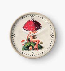 Shroom Girl Clock