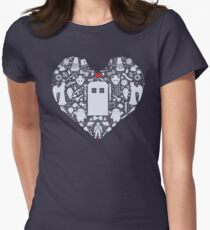 A Heart Full of Who Women's Fitted T-Shirt