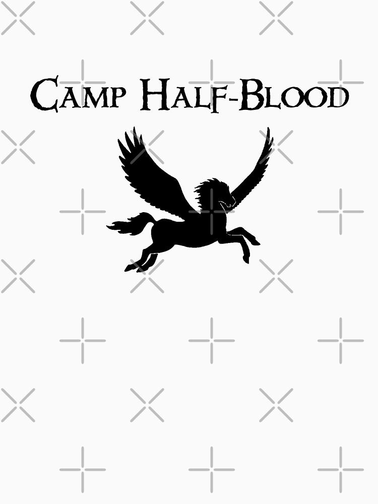 Camp Half Blood Logo Symbol Fan Fiction Geek Long T Shirt By