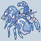 Harlequin Shrimp by bytesizetreas