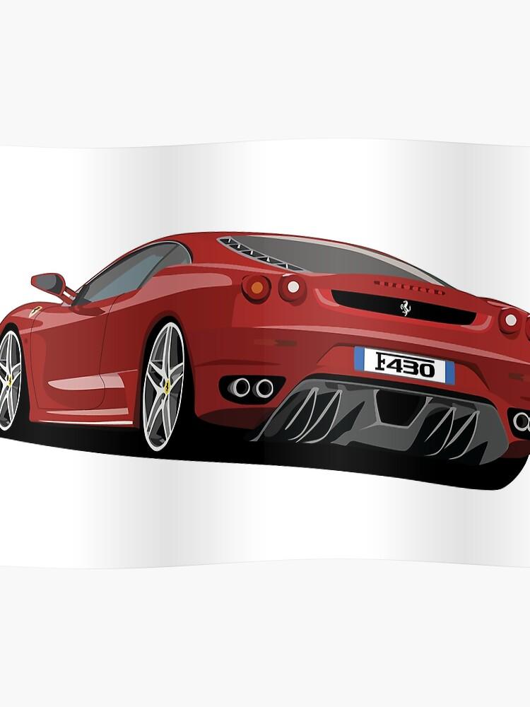 Ferrari F430 Cartoon