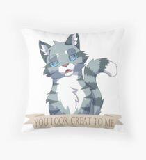 Warrior Cats: Sarcastic Jayfeather Throw Pillow