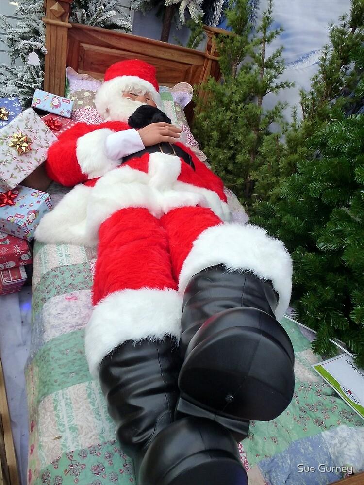 A Lazy Santa! by Sue Gurney