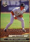 345 - Mike Gallego by Foob's Baseball Cards