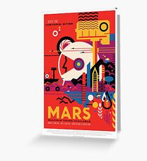 A Mars Mission (NASA/JPL) Greeting Card