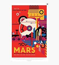 A Mars Mission (NASA/JPL) Photographic Print