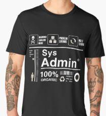 linux penguin pc nerd computer system core CPU pc coder geek informatik Men's Premium T-Shirt