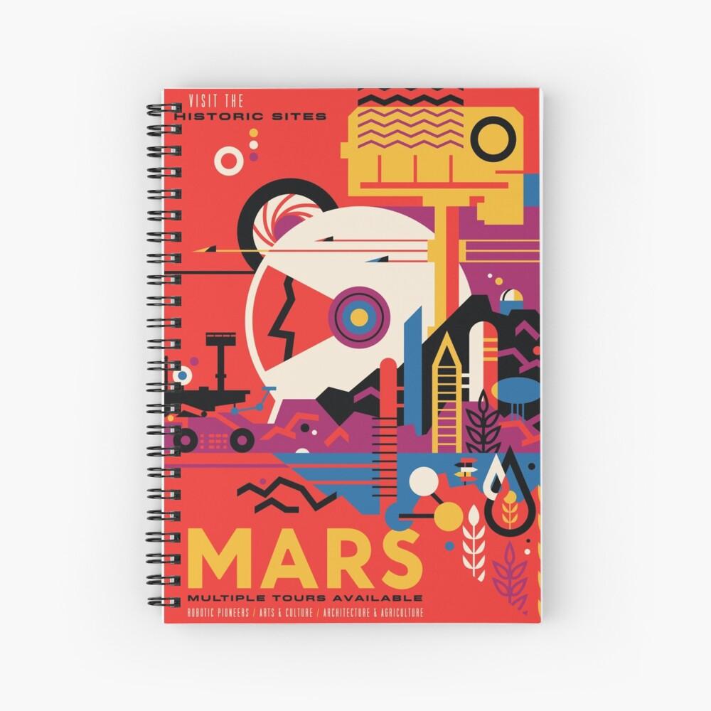Eine Marsmission (NASA / JPL) Spiralblock
