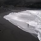 Black Sand, Silver Sea by Adamdabs