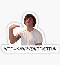 Was ist los? Kyle Sticker