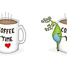 Coffee Time Brain Cell by Cartoon Neuron