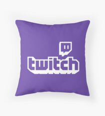 Twitch Throw Pillow