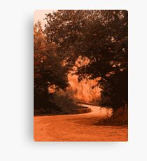 Holy Branches Canvas Print