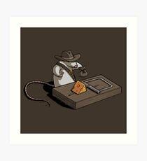 Indiana Mouse Art Print