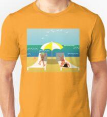 Beach girls Unisex T-Shirt