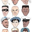 '92 BARCELONA DREAM TEAM by Leslie Agan