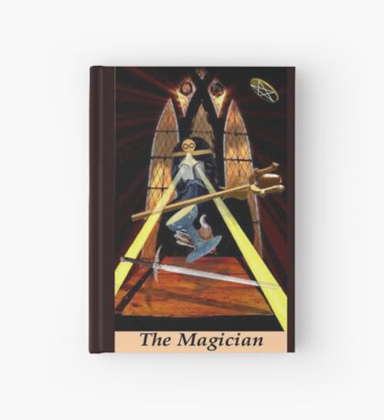 THE MAGICIAN Hardcover Journal