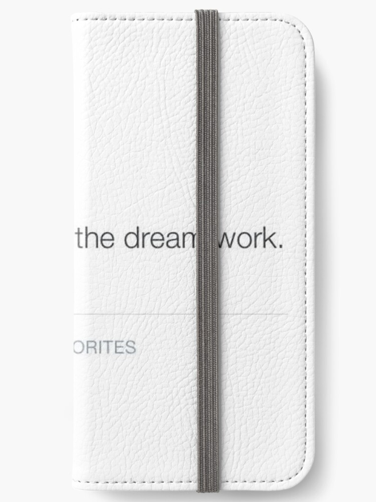 bts inspiring quote iphone wallet by elf redbubble