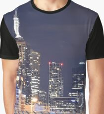 Buildings in Melbourne. Graphic T-Shirt