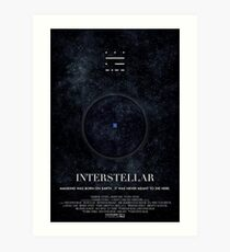 Interstellar - Wormhole Poster Art Print