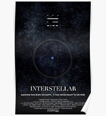 Interstellar - Wormhole Poster Poster